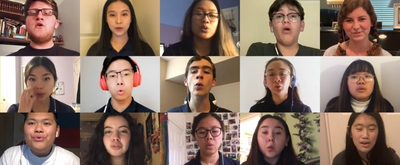VIDEO: Chino Hills Choir Covers 'Over the Rainbow' Over the Internet