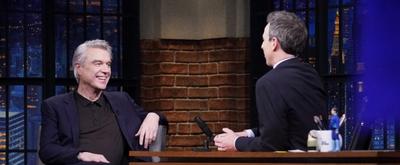 VIDEO: David Byrne Had Jerry Seinfeld Improve a Joke in AMERICAN UTOPIA