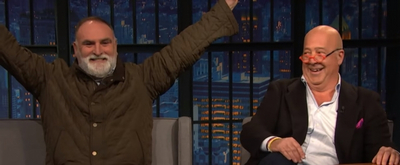 VIDEO: Andrew Zimmern and José Andrés Talk WHAT'S EATING AMERICA on LATE NIGHT WITH SETH MEYERS