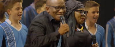 BWW TV: THE LION KING Celebrates 20 Years in London with Lebo M and Drakensberg Boys Choir