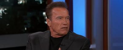 VIDEO: Watch Arnold Schwarzenegger Talk About Son-in-Law Chris Pratt on JIMMY KIMMEL LIVE!