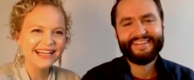 VIDEO: Amanda Jane Cooper and Husband Andrew Bell Talk Getting Married Over Zoom