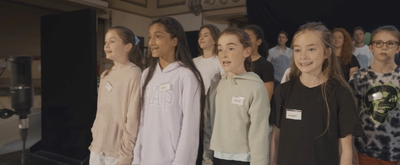 VIDEO: The Cast of MATILDA Performs 'When I Grow Up' in Rehearsals; Booking Extension Announced