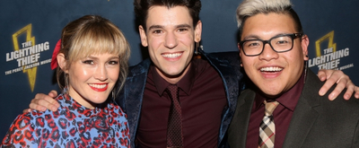 BWW TV: THE LIGHTNING THIEF Celebrates an Opening Night Worthy of the Gods!
