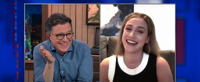 VIDEO: Lili Reinhart & Stephen Colbert Share Their Favorite Subreddits on THE LATE SHOW