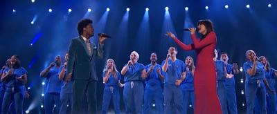 VIDEO: Idina Menzel and AMERICA'S GOT TALENT Finalist Jimmie Herrod Sing 'Defying Gravity'