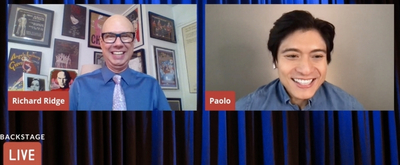 VIDEO: Paolo Montalbán Visits Backstage LIVE with Richard Ridge- Watch Now!