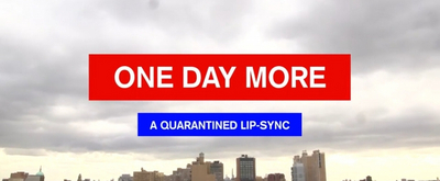 VIDEO: GROUNDHOG DAY and SPONGEBOB's Jordan Grubb Shares ONE DAY MORE - A QUARANTINED MUSICAL