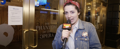 BWW Exclusive: Allison Frasca Visits THE PHANTOM OF THE OPERA on The Broadway Break(down)!