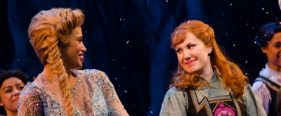Photo Coverage: FROZEN's Ciara Renée, McKenzie Kurtz and Ryan McCartan Take First Curtain Call
