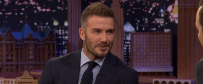 VIDEO: David Beckham Reacts to Wife Victoria Trolling Him on Instagram on THE TONIGHT SHOW