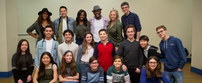 Photo Flash: The Company of TREVOR Heads Into Rehearsal