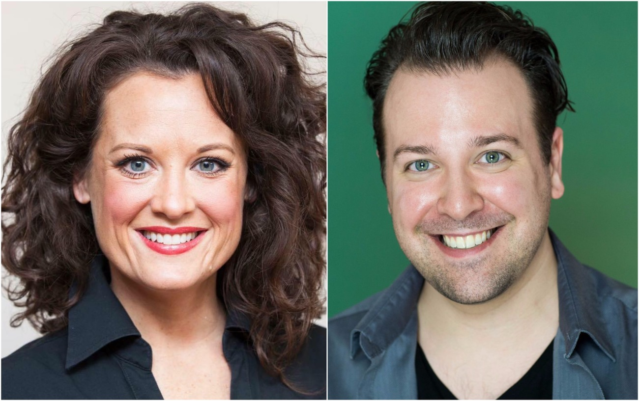Kristie Ohlinger and Jordon Ross Weinhold Join EPAC's THE MAN WHO CAME TO DINNER