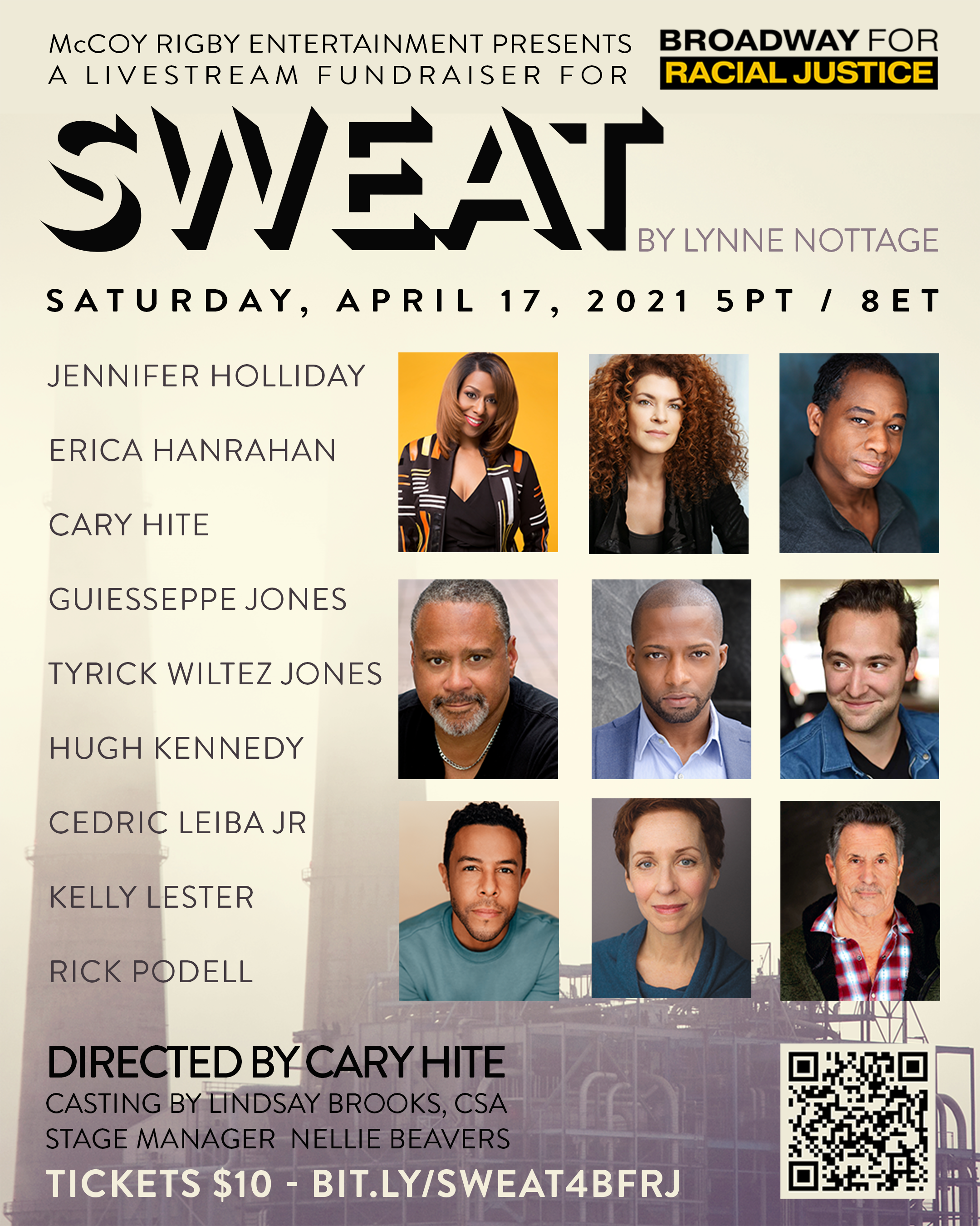 Jennifer Holliday & More Star in SWEAT Livestream Fundraiser For Broadway For Racial Justice