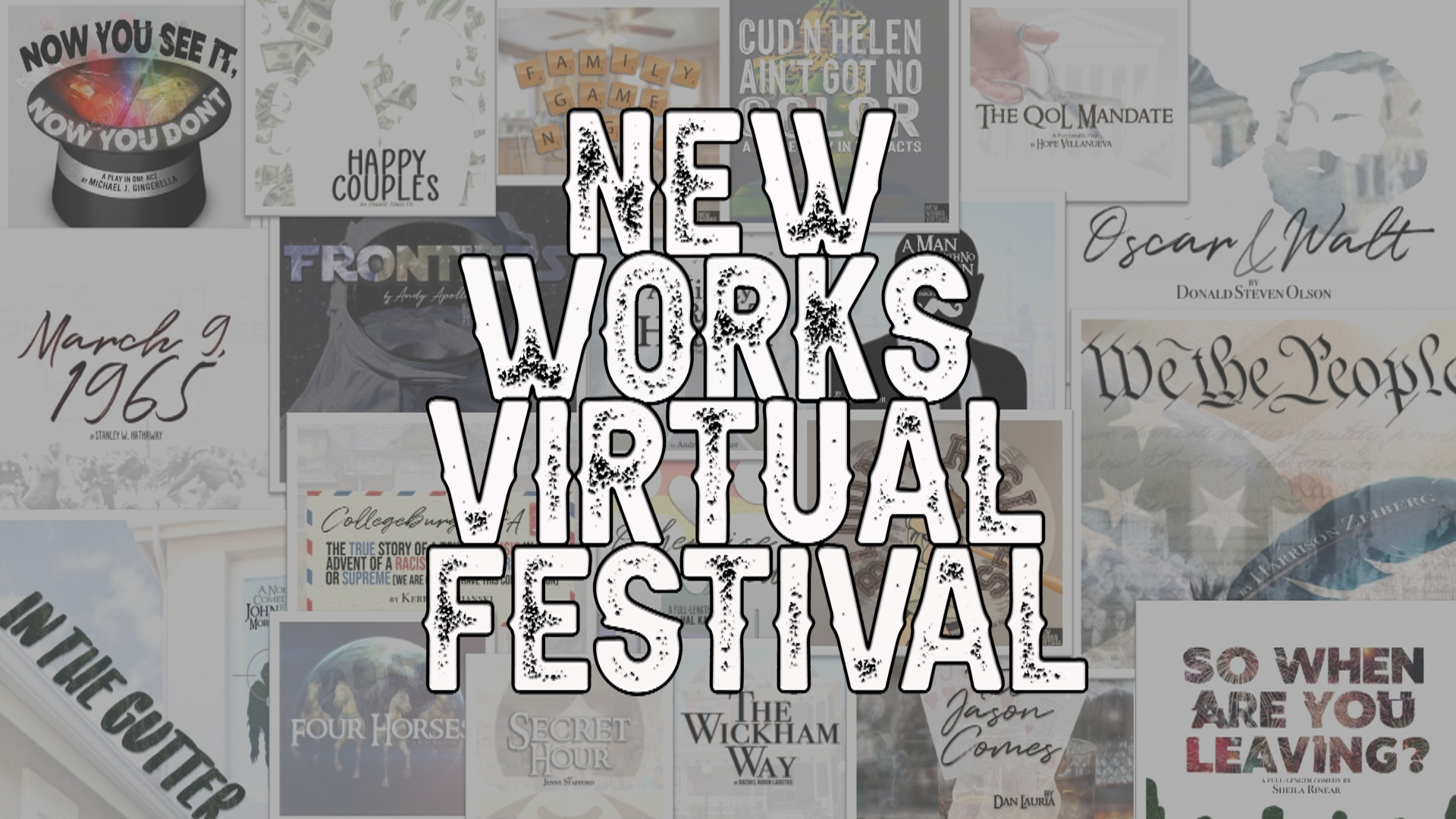 The New Works Virtual Festival Begins Tonight