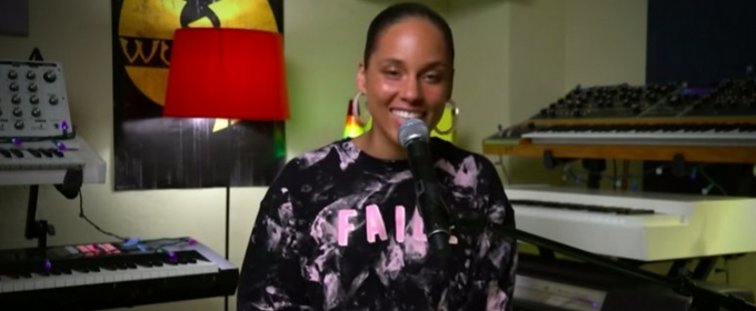 VIDEO: Alicia Keys Puts Her Own Spin On Flo Rida's 'My House'
