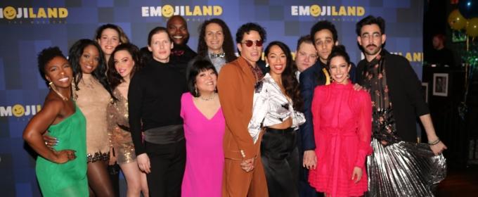 BWW TV: Lesli Margherita, Josh Lamon & More Celebrate Opening Night of EMOJILAND!