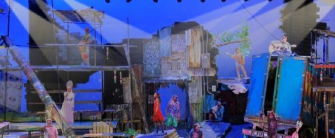 ONCE ON THIS ISLAND National Tour Set Design Revealed
