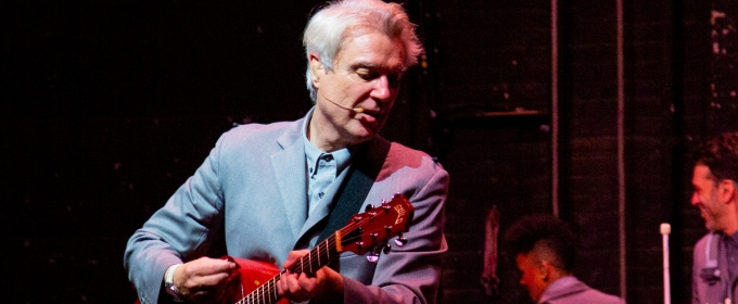 Rock Legend David Byrne Brings His AMERICAN UTOPIA To Broadway!