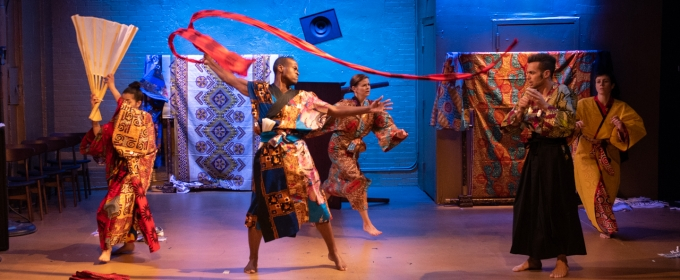 BWW Review: Creativity soars in the examination of toxic masculinity in the multimedia dance play BRANDOCAPOTE at The Tank