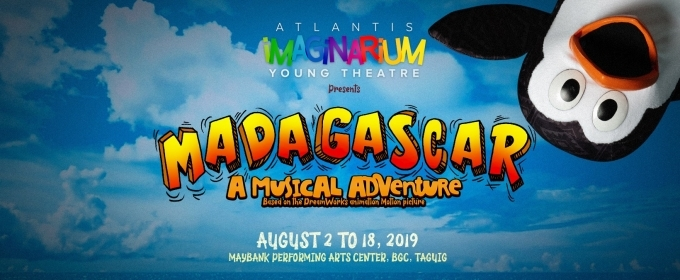 Asian Premiere of MADAGASCAR: A MUSICAL ADVENTURE Announces Full Cast; Show Opens Aug. 2
