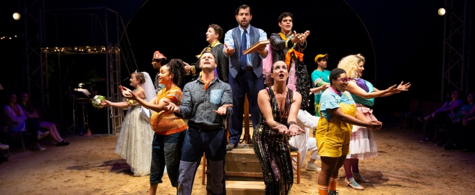 BWW Review: INTO THE WOODS  at Hudson Valley Shakespeare Festival, Its First Musical - Playful and Poignant