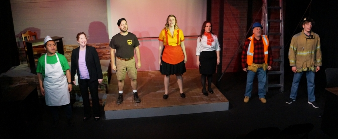 BWW Review: WORKING WAS AN EXTRAORDINARY MUSICAL OF THE WORKING CLASS  at Powerstories Theatre
