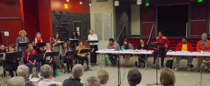 VIDEO: Get a Peek Inside Rehearsal For SISTER ACT at 5th Avenue Theatre, Starring Natalie Toro!