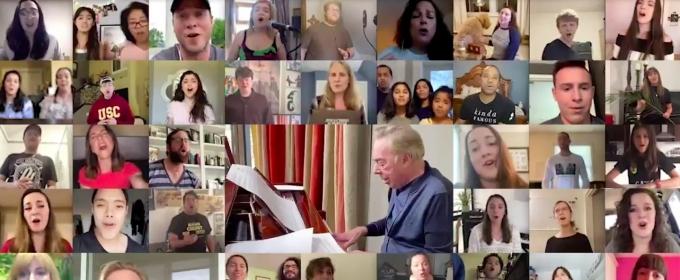 VIDEO: Andrew Lloyd Webber Creates Virtual 'Hosanna' Choir, With John Legend, Brandon Victor Dixon, and More!
