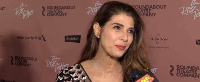 BWW TV: Marisa Tomei & Company Celebrate Opening Night of THE ROSE TATTOO