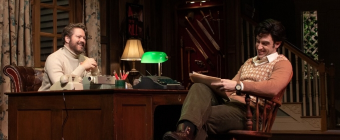 Photo Flash: Get A First Look At DEATHTRAP At Cape Playhouse