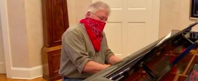 VIDEO: Alan Menken Creates a 'Bandana Cover' of 'America the Beautiful' to Support the Hero Box Challenge