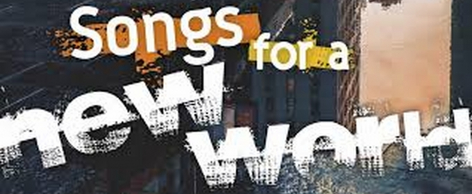 BWW Review: SONGS FOR A NEW WORLD at ART4