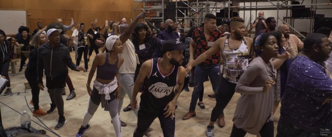 VIDEO: Get A First Look At PORGY AND BESS Rehearsals At The Met Opera Choreographed By Camille A. Brown