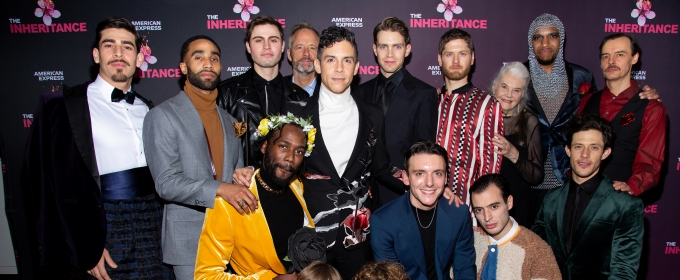 BWW TV: Matthew Lopez and the Company of THE INHERITANCE Celebrate Opening Night!