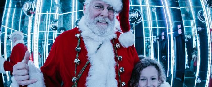 Meet Santa and Discover His Enchanted World at LA's  Largest Immersive Holiday Experience at Wisdome.LA