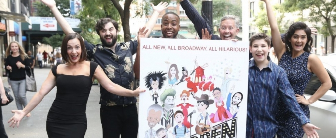 BWW Exclusive: FORBIDDEN BROADWAY Celebrates Opening Night