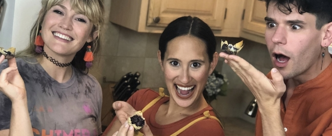 Backstage Bite with Katie Lynch: THE LIGHTNING THIEF's Chris McCarrell & Kristin Stokes Get Cookin'