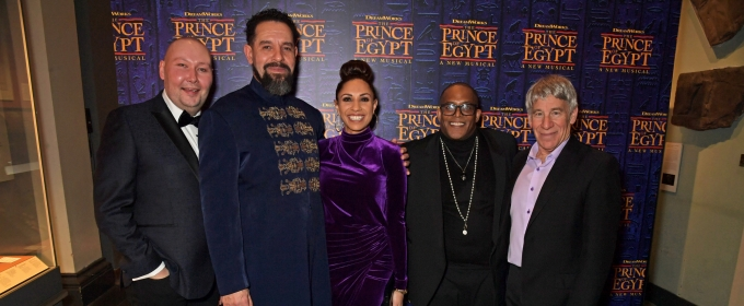 Photo Flash: Stephen Schwartz, Elaine Paige, and More at Opening Night of THE PRINCE OF EGYPT