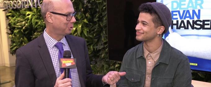 BWW TV: Hangin' with Broadway's New Evan Hansen, Jordan Fisher!
