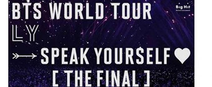 BTS' LOVE YOURSELF: SPEAK YOURSELF Comes to U.S. Cinemas on October 27