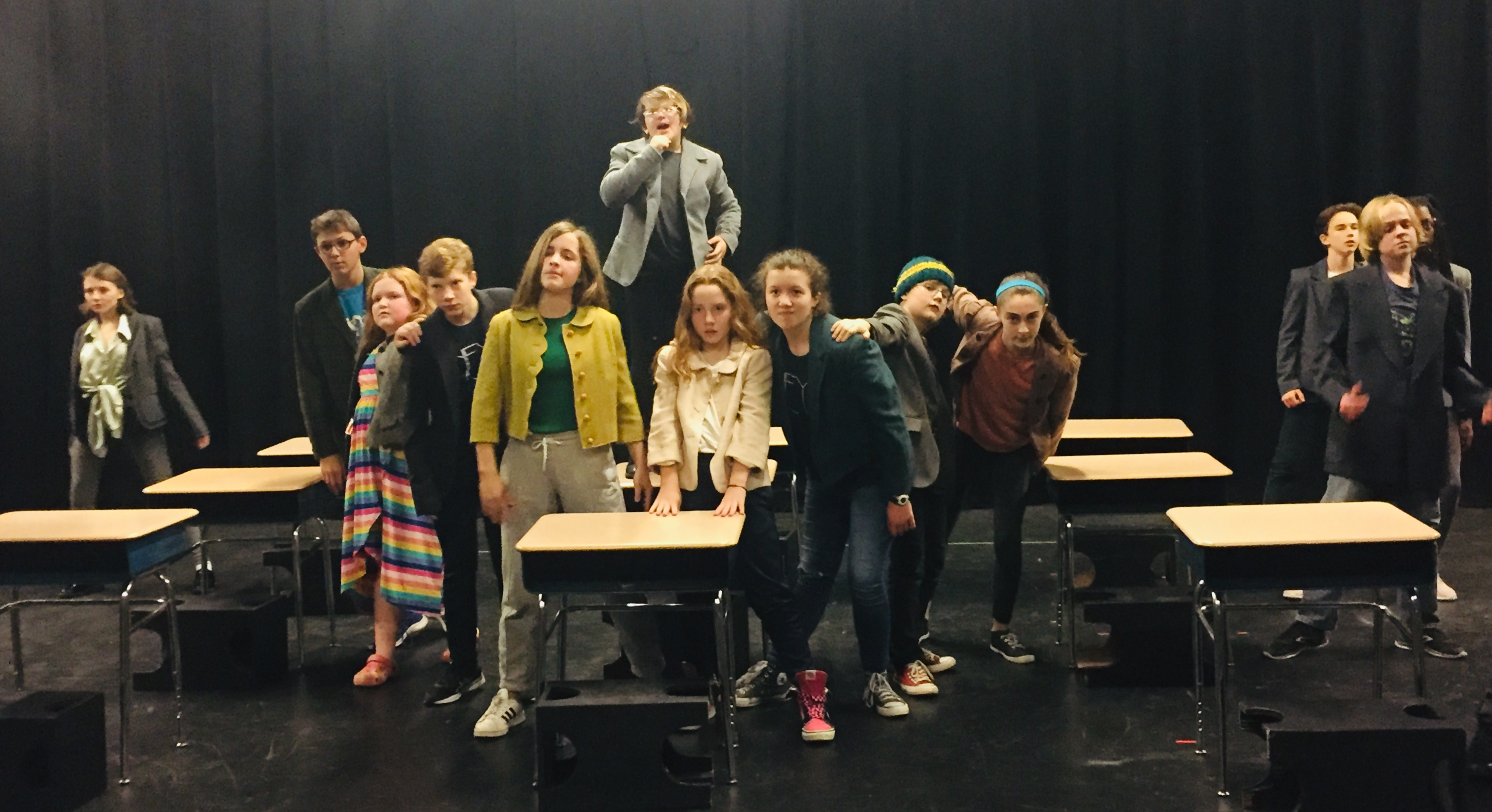 MATILDA Hits The Stage At NEYT