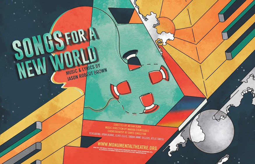 SONGS FOR A NEW WORLD to be Presented by Monumental Theatre Company