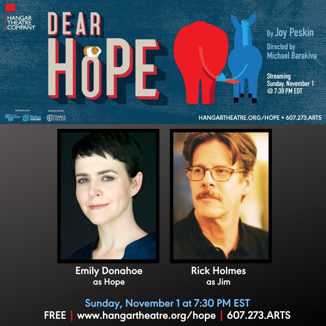 Hangar Theatre Company Presents Free Virtual Play DEAR HOPE