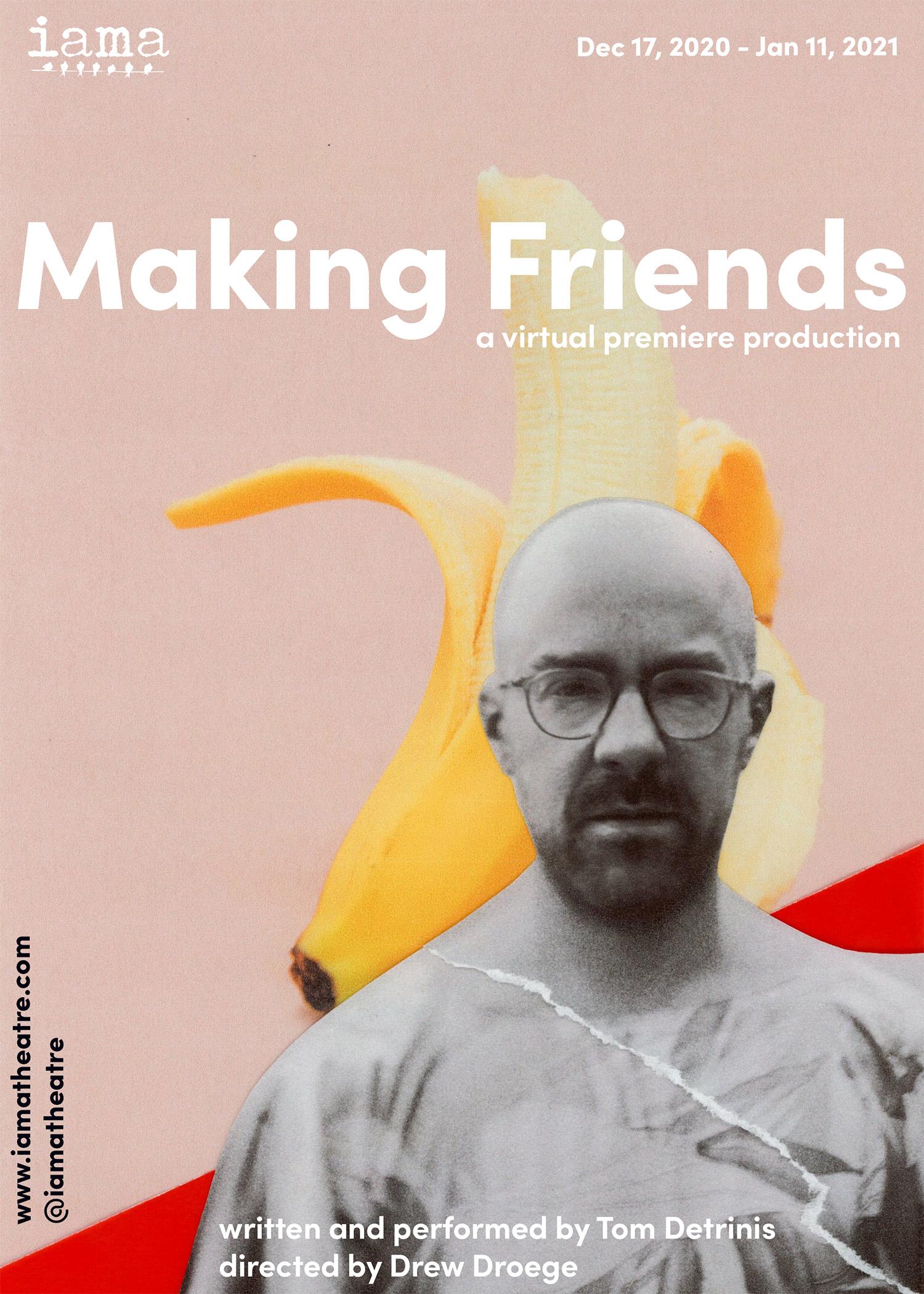 IAMA Streams MAKING FRIENDS by Tom Detrinis