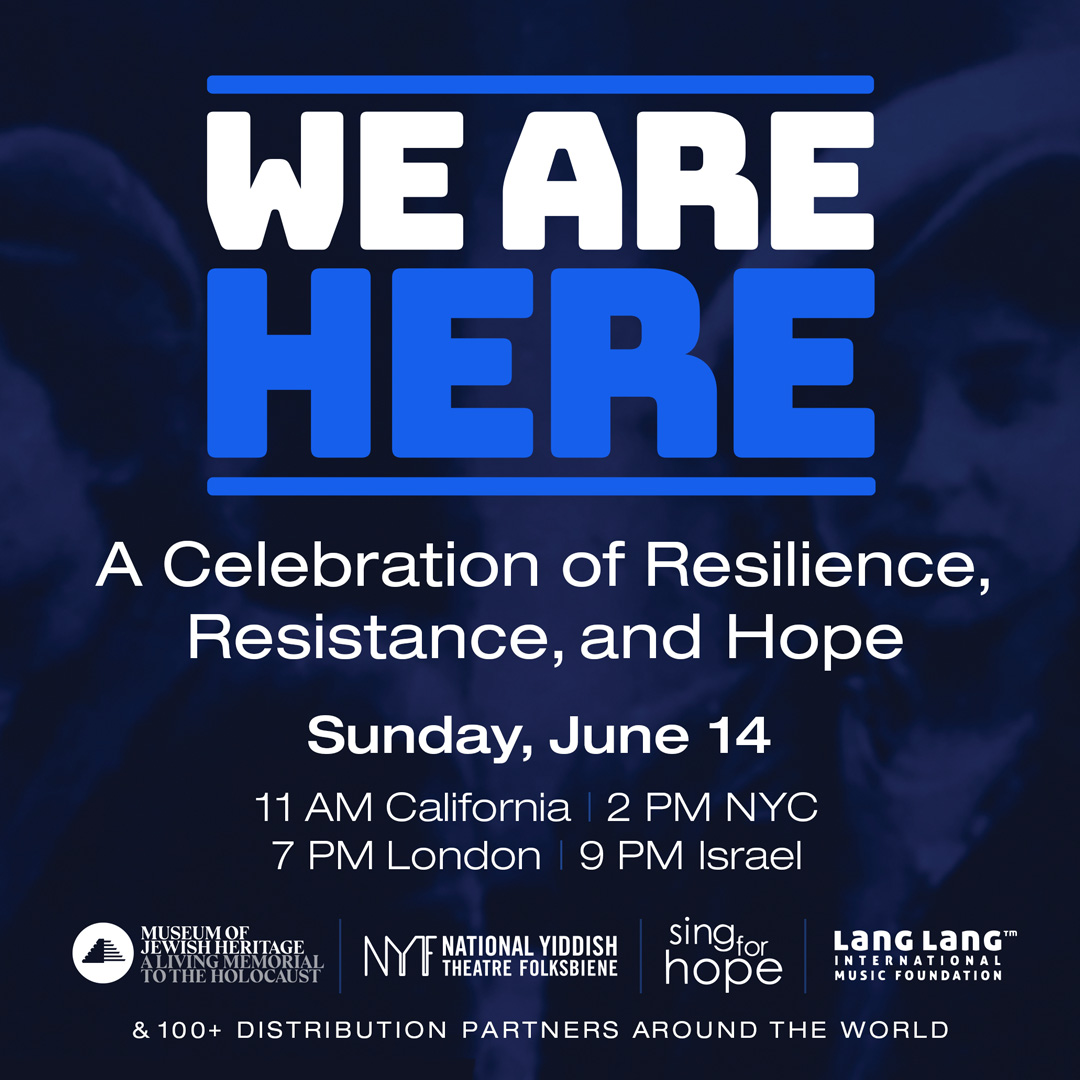 Whoopi Goldberg, Renée Fleming and More Join WE ARE HERE: A CELEBRATION OF RESILIENCE, RESISTANCE, AND HOPE
