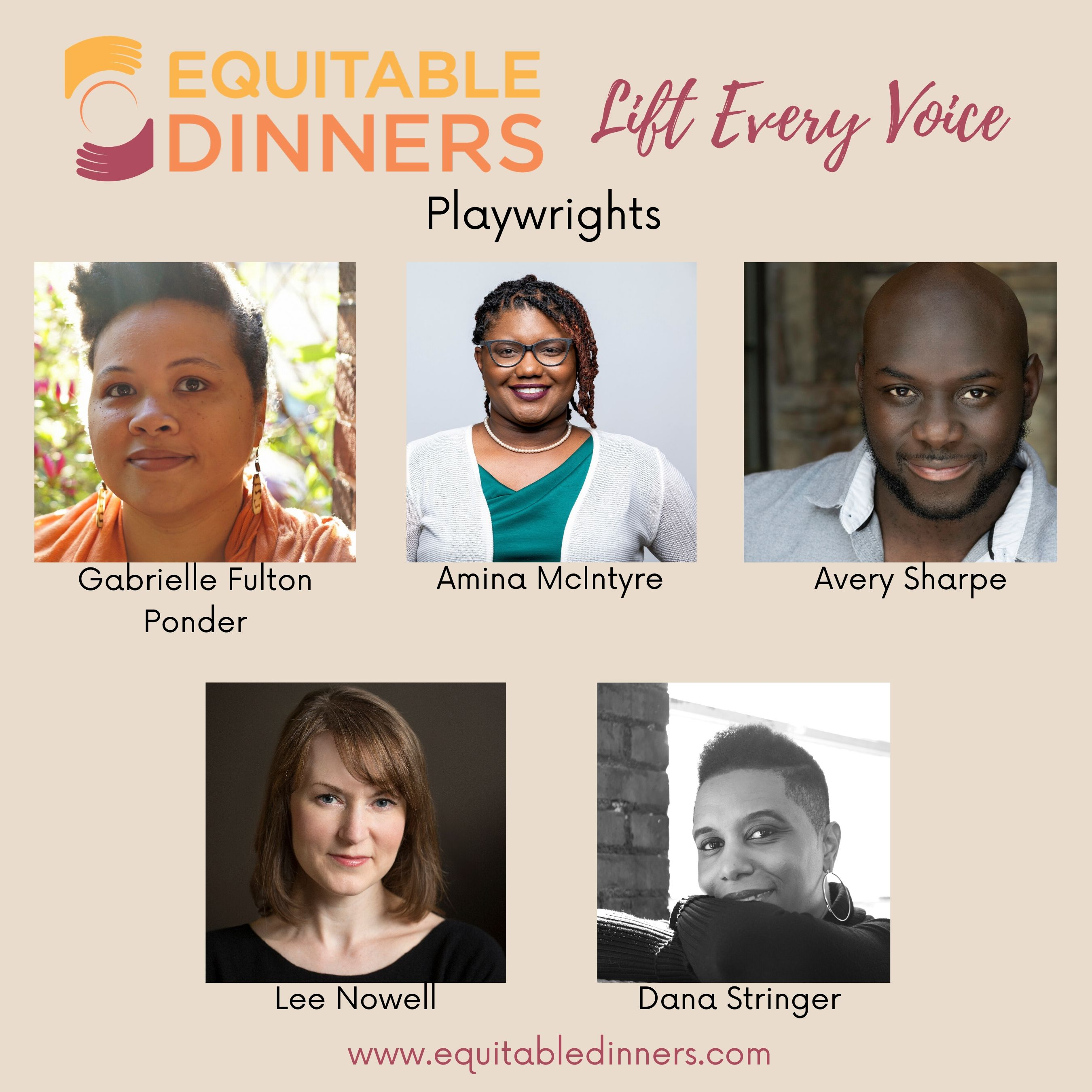 Atlanta Playwrights Join New Series, Equitable Dinners: Lift Every Voice