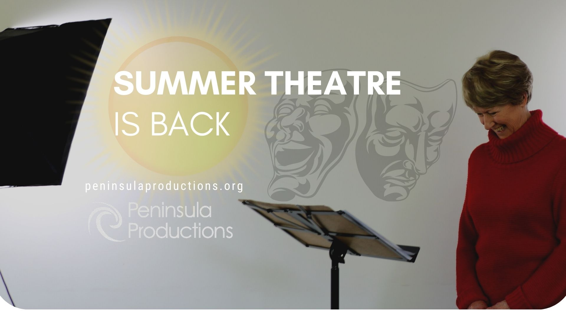 Live Theatre Returns to Peninsula Productions This Month