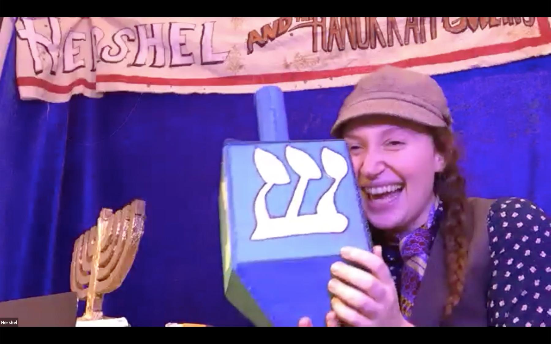 Strawdog Theatre Presents HERSHEL AND THE HANUKKAH GOBLINS