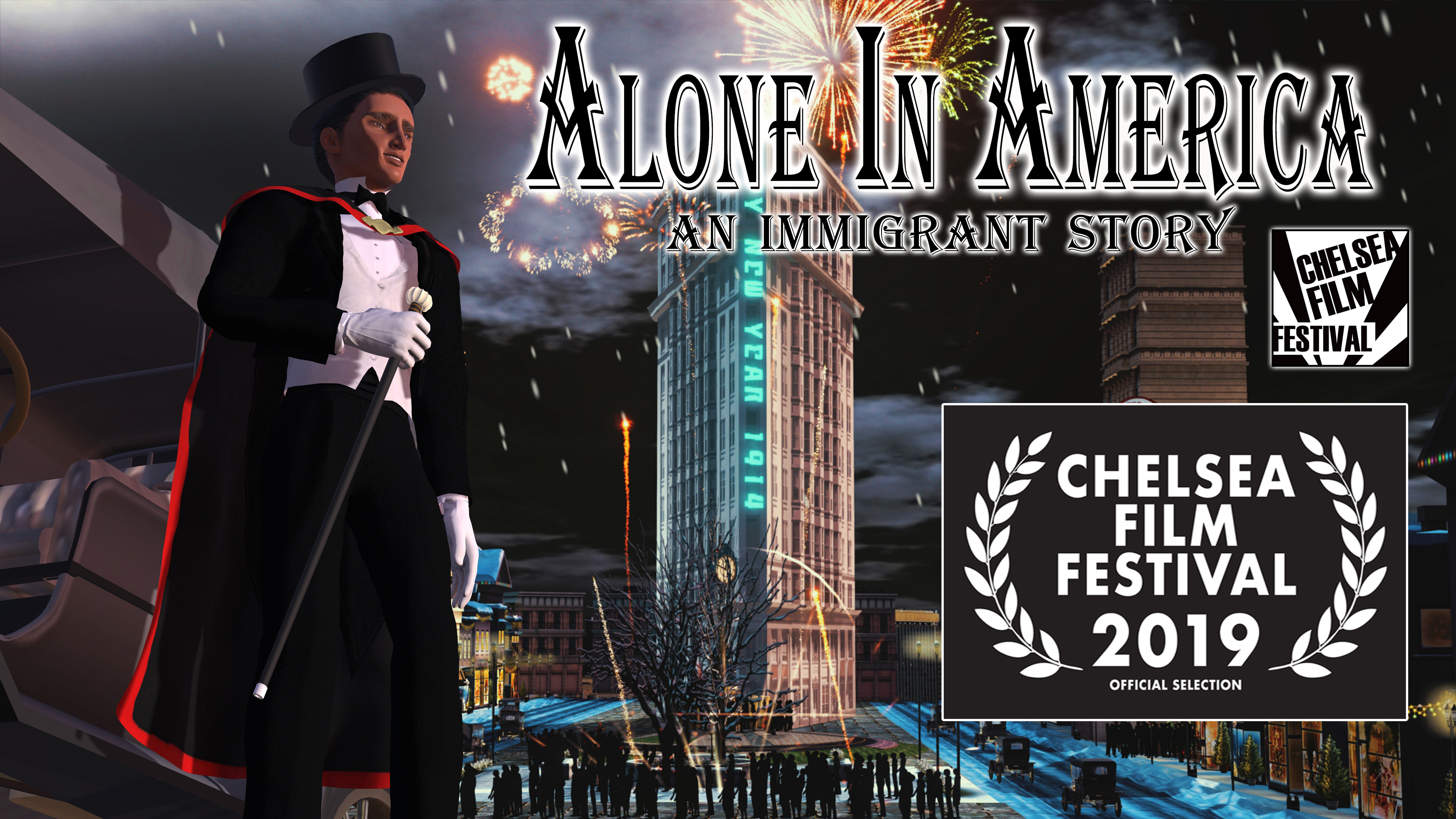 ALONE IN AMERICA - AN IMMIGRANT STORY Officially Selected For The Chelsea Film Festival in New York City